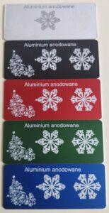aluminium anodowane kolor 154x300 - Grawerowanie Poznań