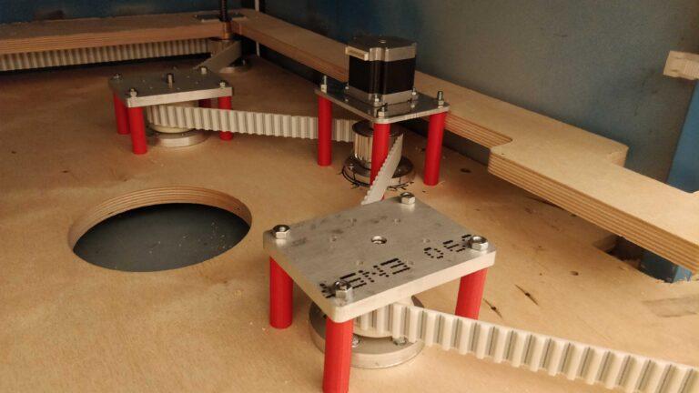 podnoszenie stolu CO2 3 768x432 - Budujemy laser